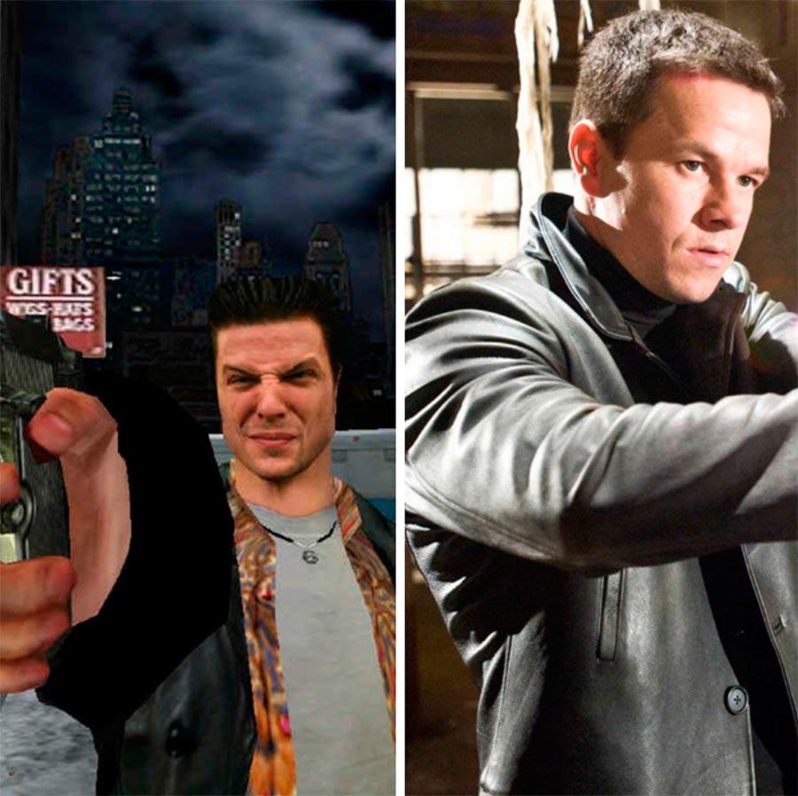 Игровые персонажи Марк Уолберг Mark Wahlberg Макс Пейн Max Payne