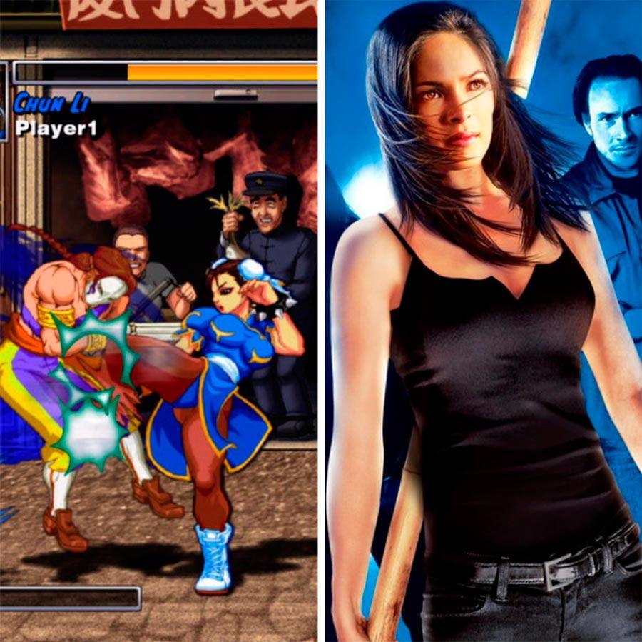 Игровые персонажи Кристин Кройк Kristin Kreuk Чунь-Ли Street Fighter