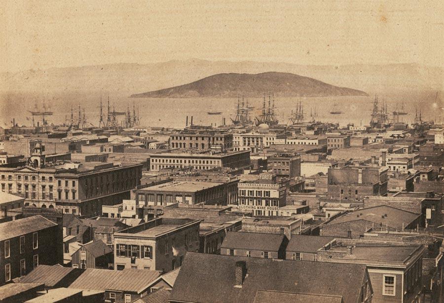 historical events Исторические события город  гавань Сан-Франциско Калифорния США San Francisco California USA