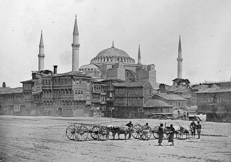 historical events Исторические события Собор Святой Софии мечеть Айя-София Стамбул Турция Istanbul Turkey