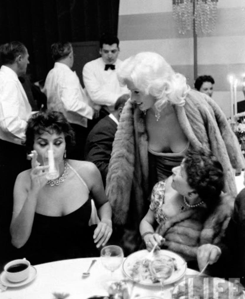 Софи Лорен Джейн Мэнсфилд Sophia Loren Jayne Mansfield