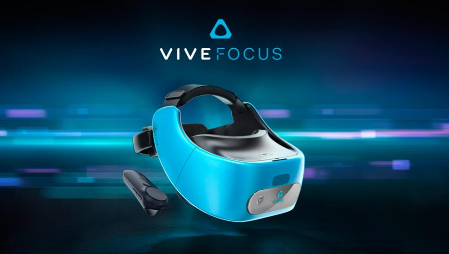 virtual reality HTC гарнитурa виртуальной реальности Vive Focus