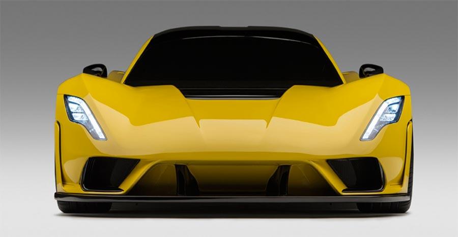 hypercar Гиперкар Hennessey Venom F5