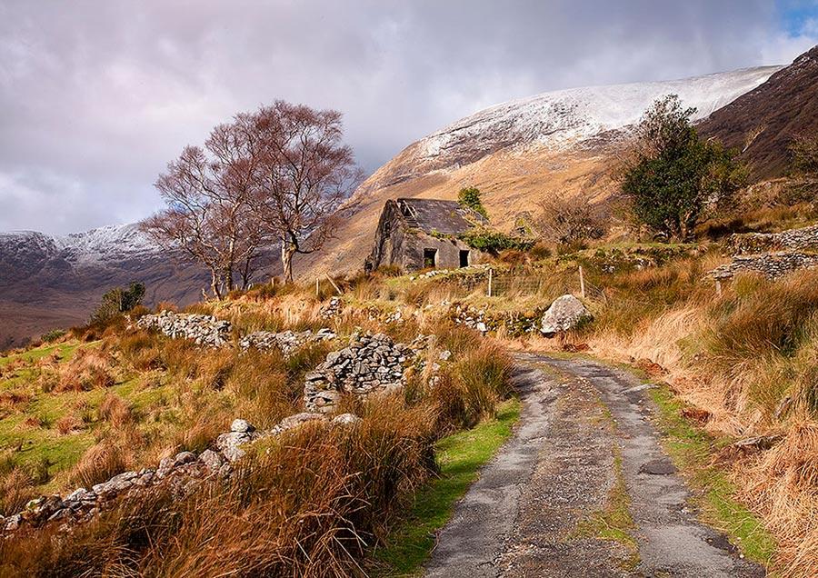 Ireland Ирландия скалы замки пейзажи rocks castle landscapes