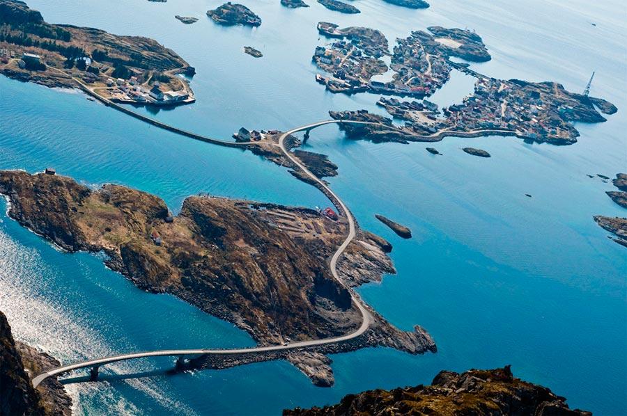 пейзажи Норвегия landscapes Norway Атлантическая океанская дорога
