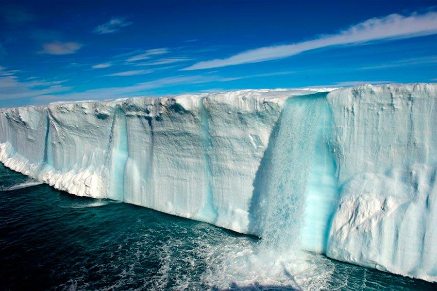 пейзажи Норвегия landscapes Norway ледниковые водопады