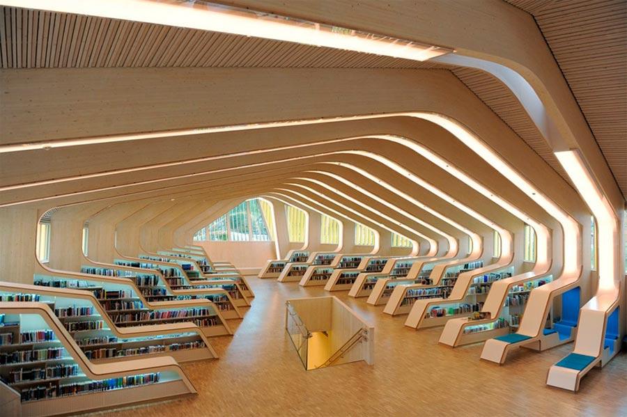 пейзажи Норвегия landscapes Norway библиотека Веннесла Vennesla