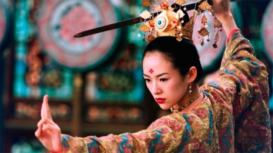 шедевры восточного кино masterpieces of asian cinema Дом летающих кинжалов House of Flying Daggers