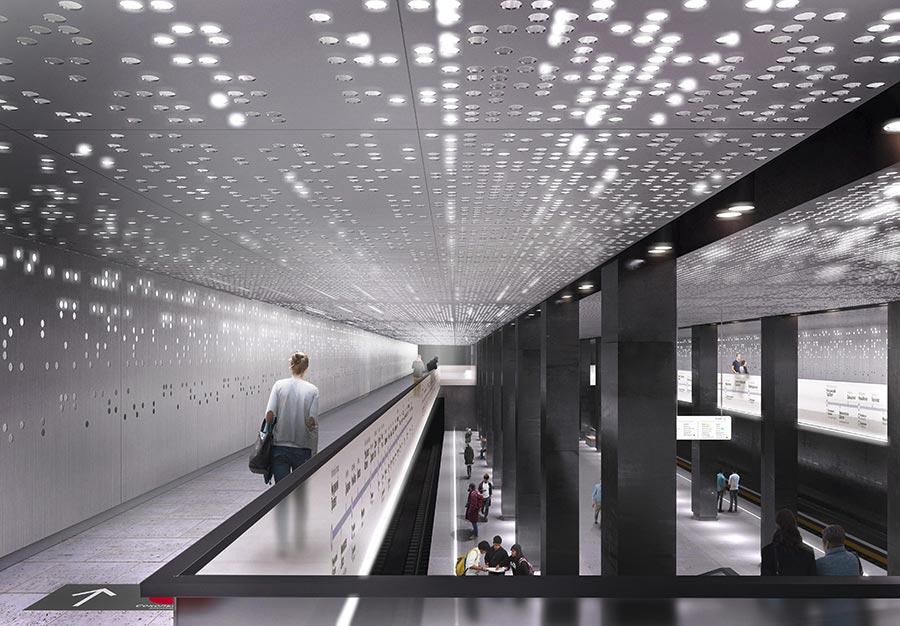 станции нового кольца station of the new ring