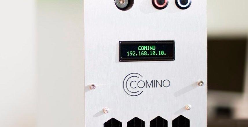 Comino майнер с функцией обогрева miner with funstion heating