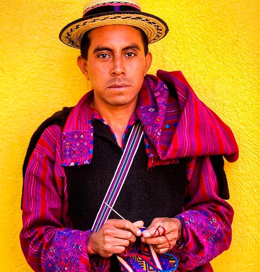 Народы культура традиции аутентичность Майя Сан Хуан Атитан Гватемала Maya San Juan Atitan Guatemala