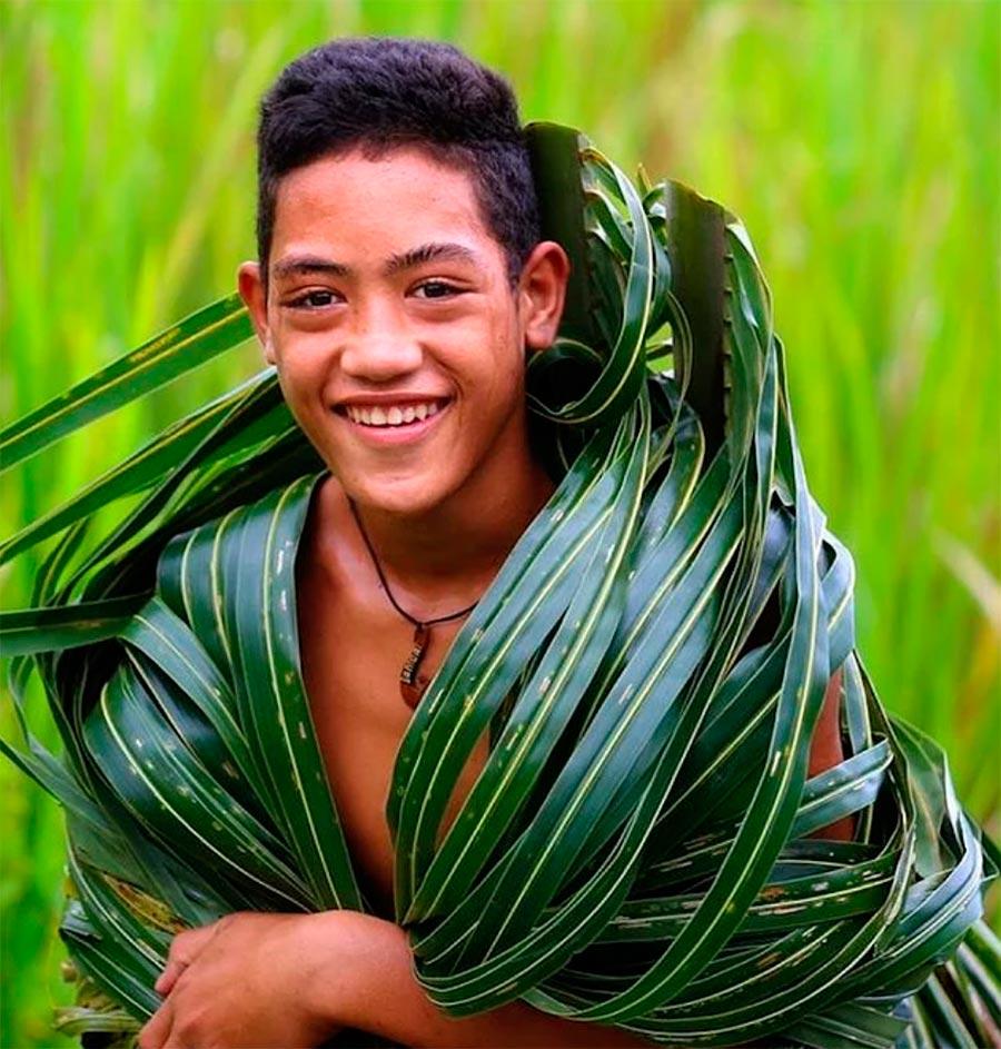 Народы культура традиции аутентичность Самоа Samoa