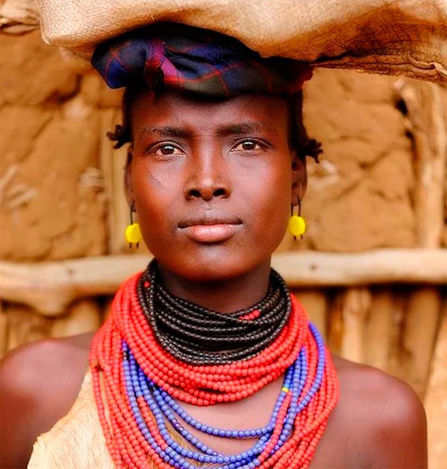 Народы культура традиции аутентичность Даасанах Африка Dasanech Africa