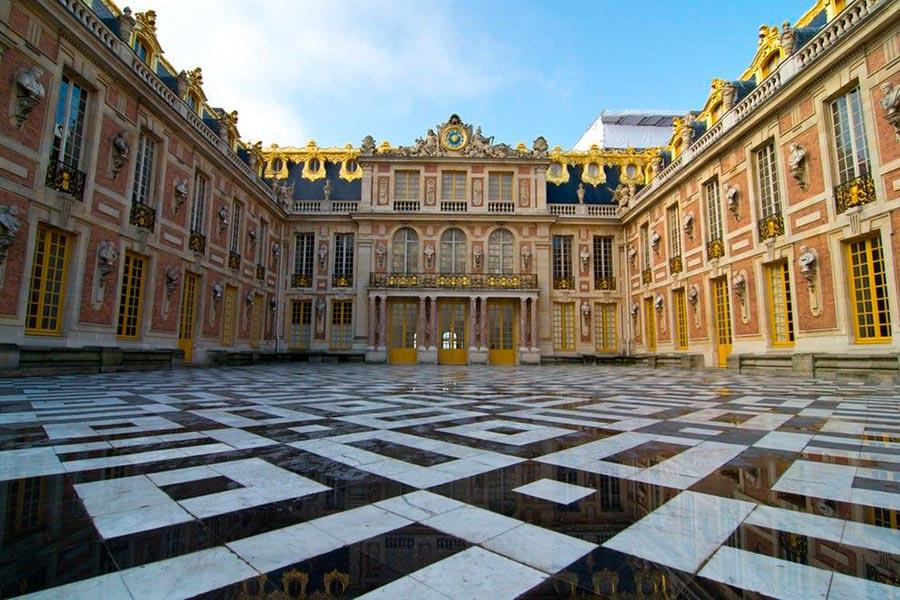 места на Земле Версальский дворец Франция France