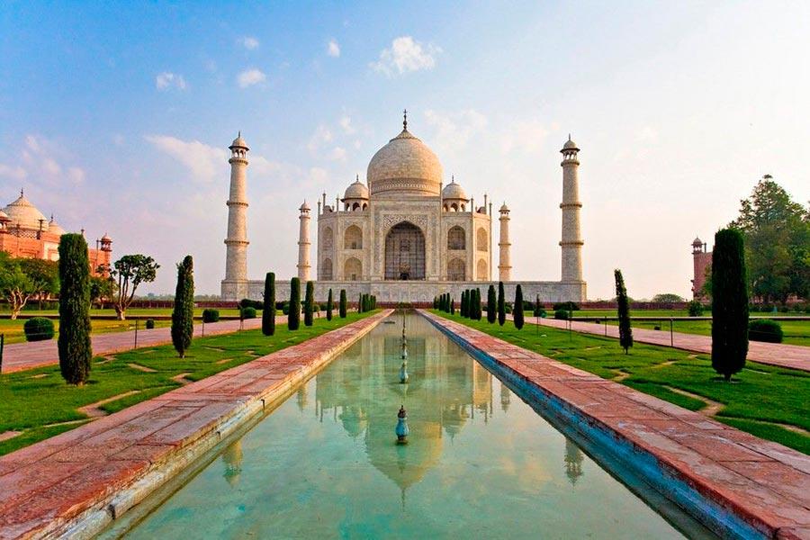 места на Земле Тадж-Махал Индия India
