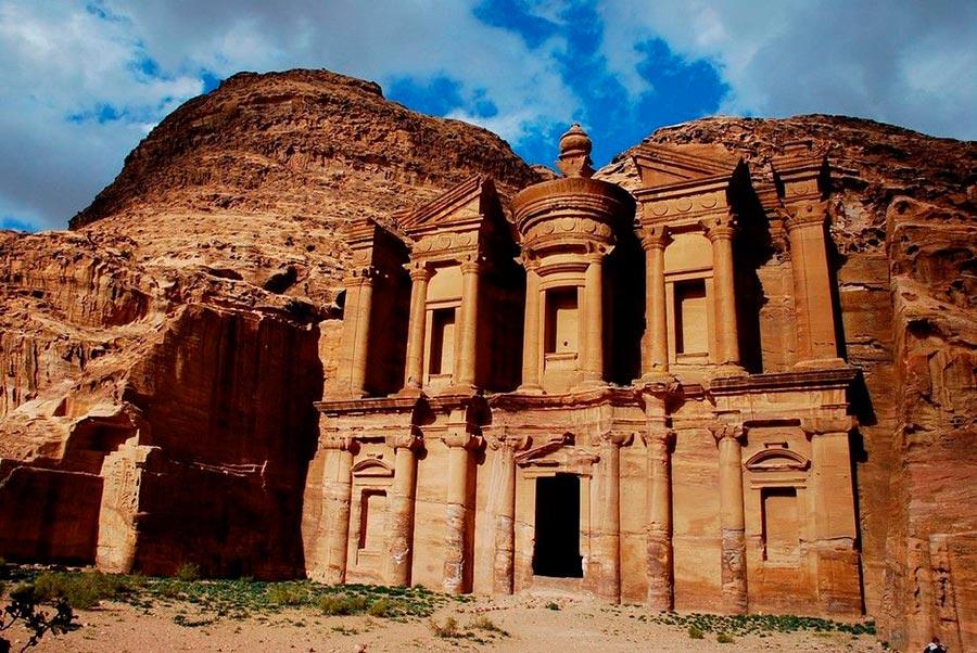места на Земле Древний город Петра Иордания Jordan