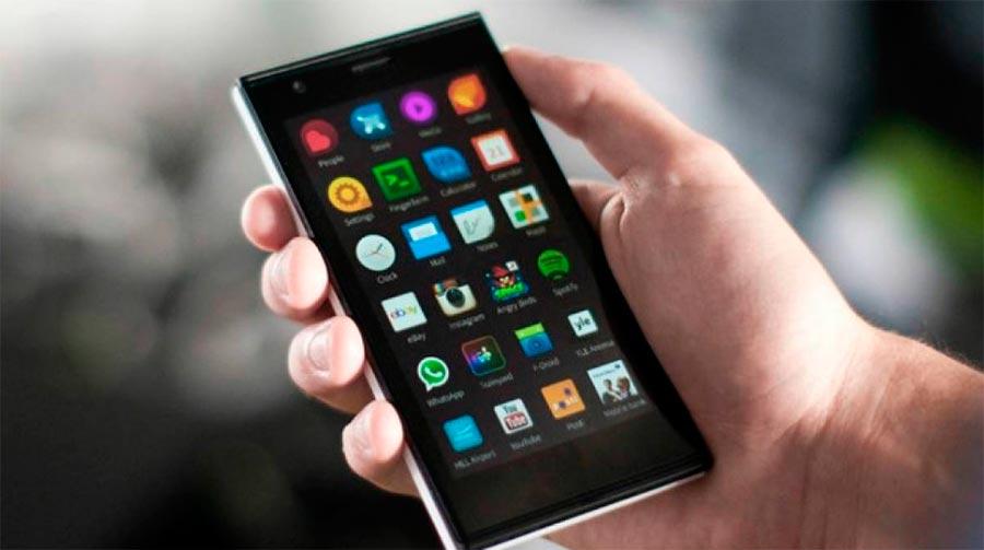 смартфоны на мобильной ОС Sailfish