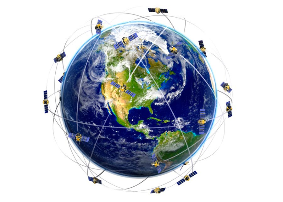 Спутниковая система навигации satellite navigation system