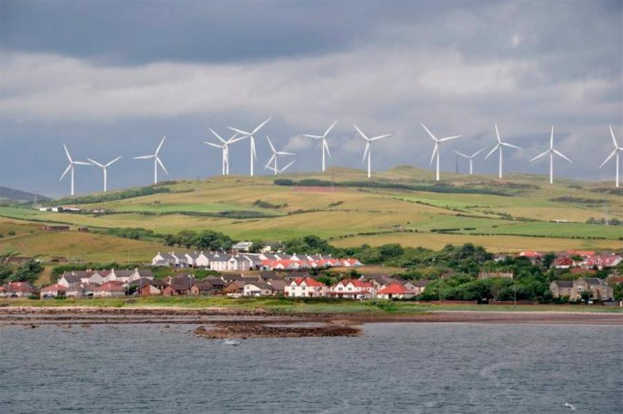 Шотландия чистая энергия Scotland clean energy