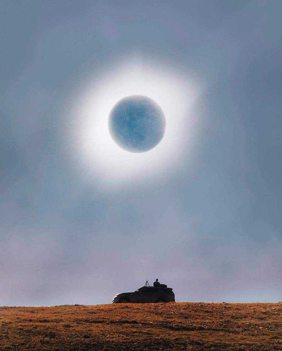 солнечное затмение solar eclipse