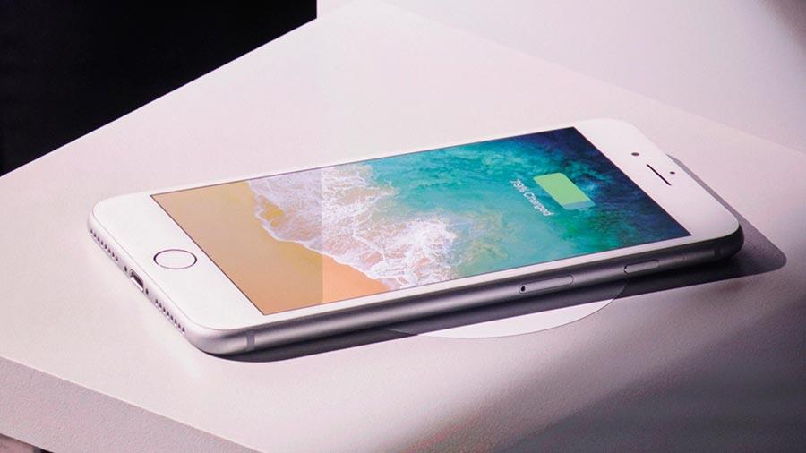 """iOS беспроводная зарядка новых """"айфонов"""" iphone"""