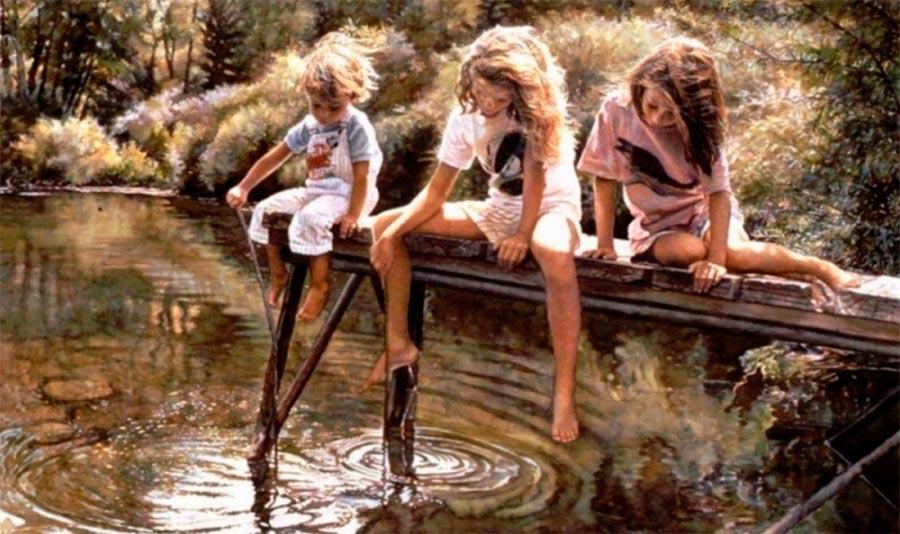 Потрясающе реалистичная акварель stunningly realistic watercolors