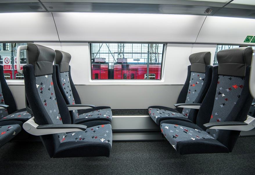 Aeroexpress Аэроэкспресс двухэтажный Stadler