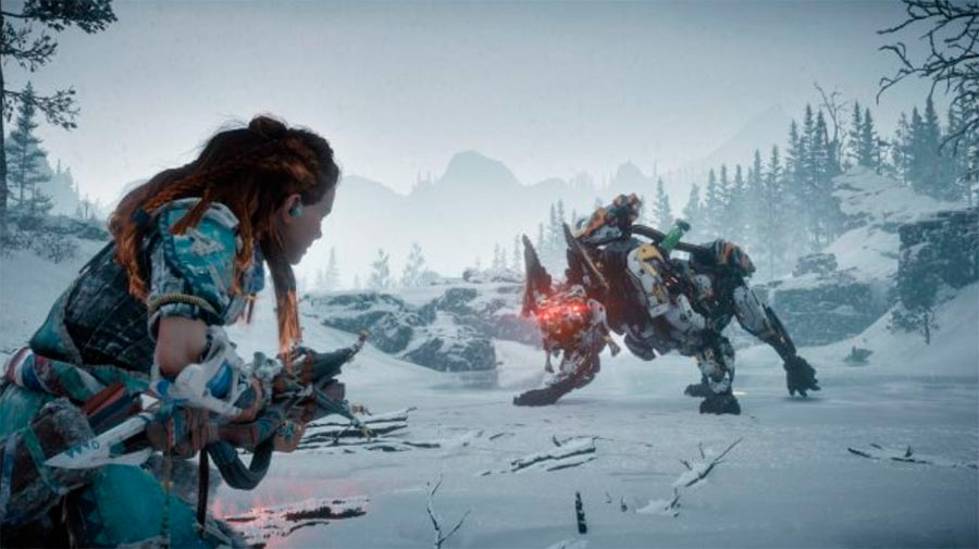 Обзор The Frozen Wilds игры Horizon Zero Dawn