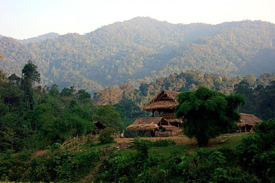 Самые дикие места на Земле wild places on Earth Чыонгшон Cyong Chon Лаос Вьетнам Laos Vietnam