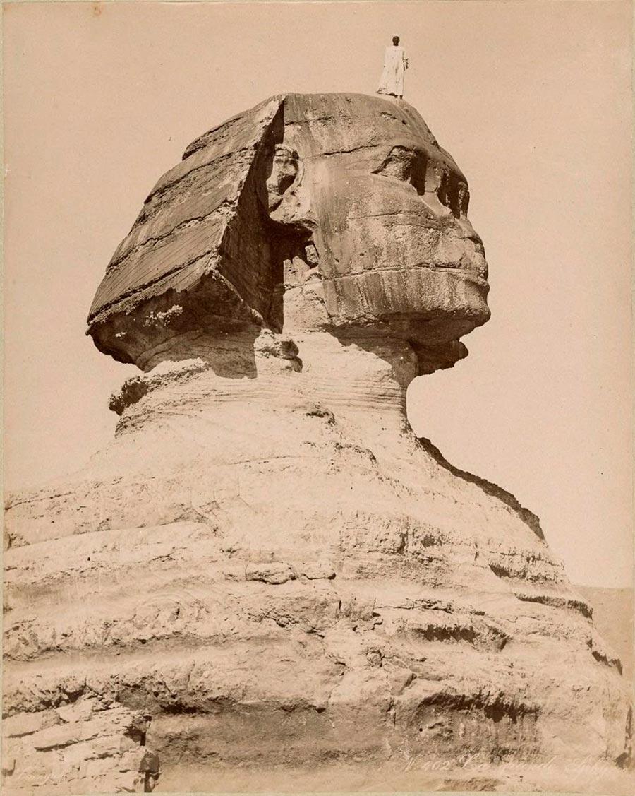 Adelphoi Zangaki Братья Зангаки Древние чудеса Египта ancient wonders of Egypt Большой сфинкс в Гизе