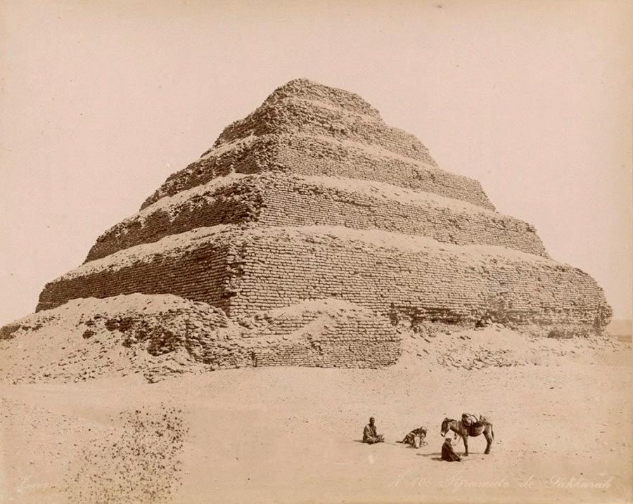 Adelphoi Zangaki Братья Зангаки Древние чудеса Египта ancient wonders of Egypt Пирамида Джосера в Саккаре