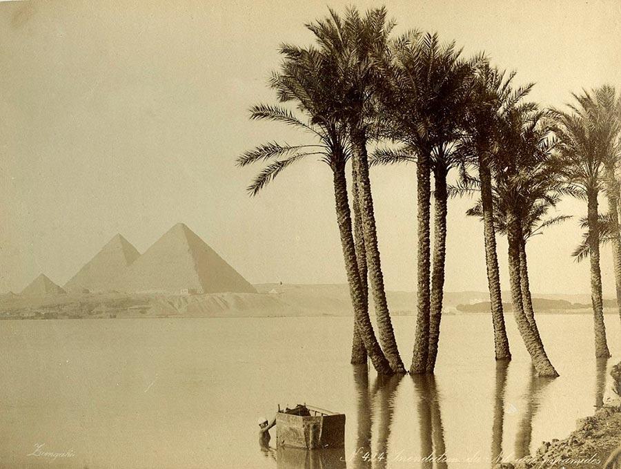 Adelphoi Zangaki Братья Зангаки Древние чудеса Египта ancient wonders of Egypt Затопленные берега Нила