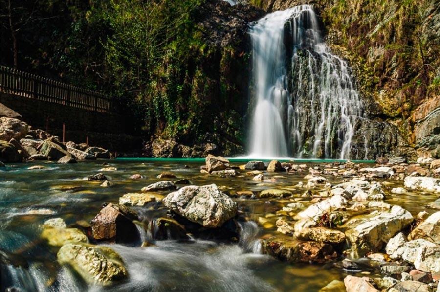 Сочинский национальный парк: Змейковские водопады