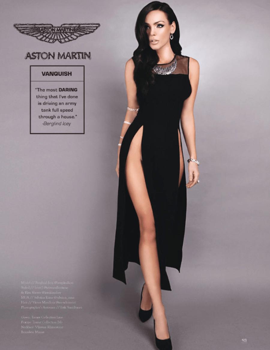 Если бы автомобили были женщинами Aston Martin Vanquish