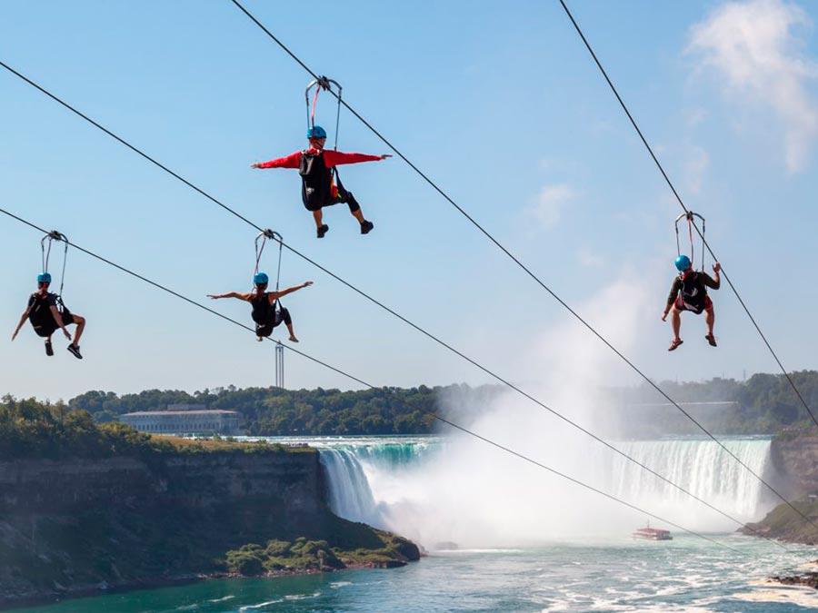 adventure приключения Ниагарский водопад Северная Америка Niagara falls North America