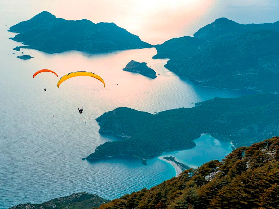 adventure приключения Голубая лагуна Олюдениз Турция Blue lagoon Oludeniz Turkey