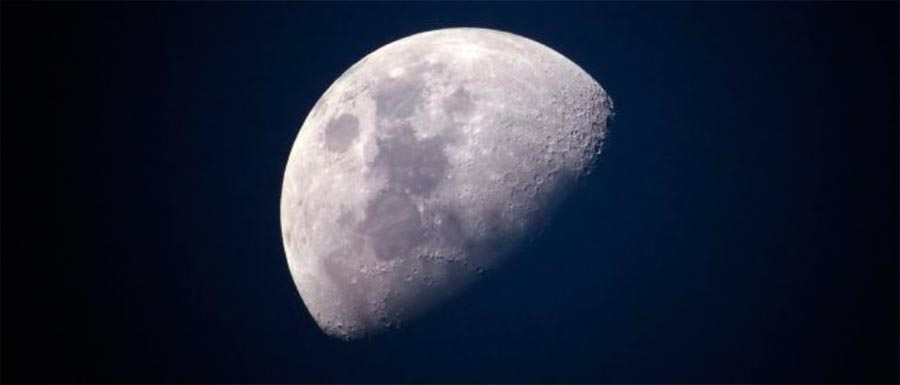 Древняя Луна имела атмосферу