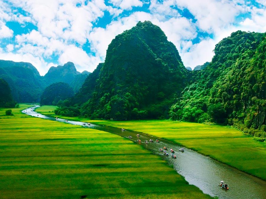 Ниньбинь Вьетнам Ninh Binh