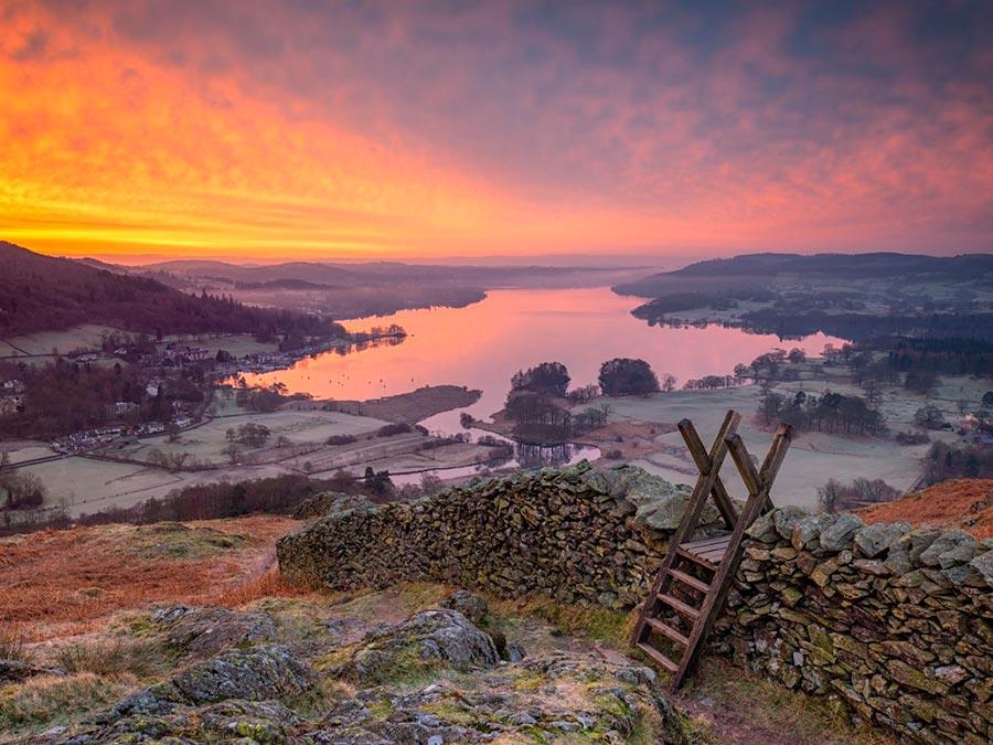 Лейк-Дистрикт Камбрия Англия Lake District Cumbria England