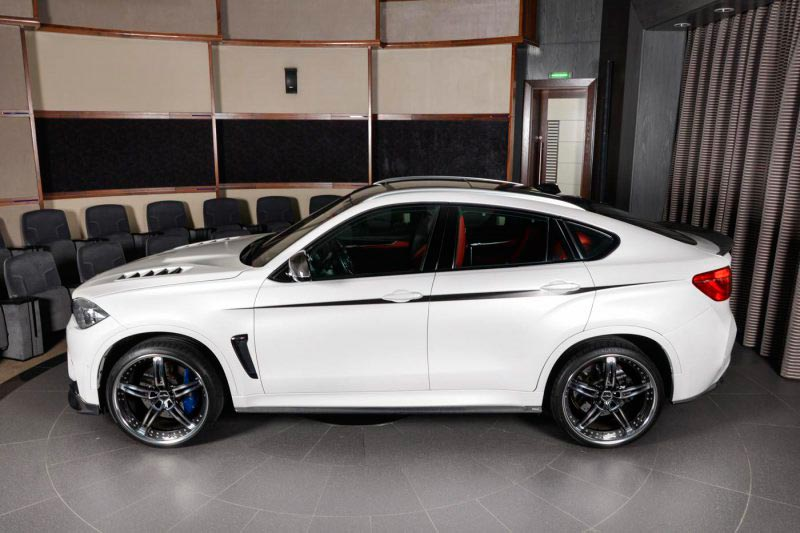 BMW X6 M tuning 3D Design