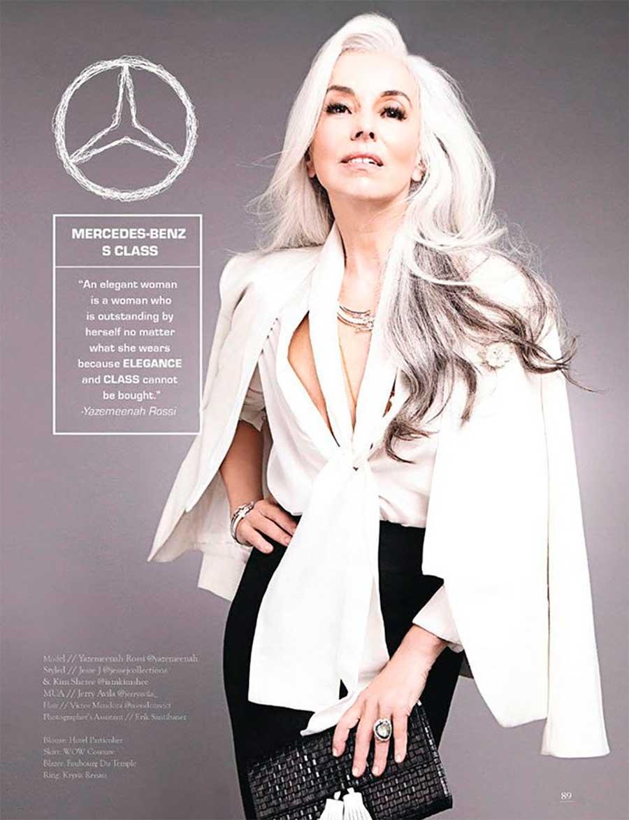Если бы автомобили были женщинами Mercedes Benz S Class