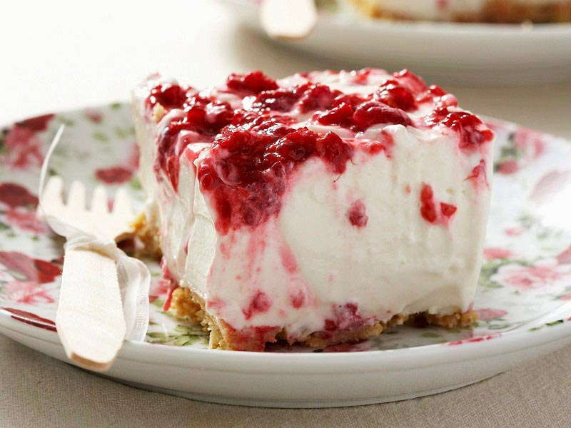 Творожный торт cheesecake