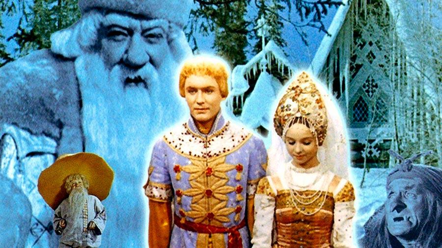 новогодние фильмы России и ближнего зарубежья Морозко