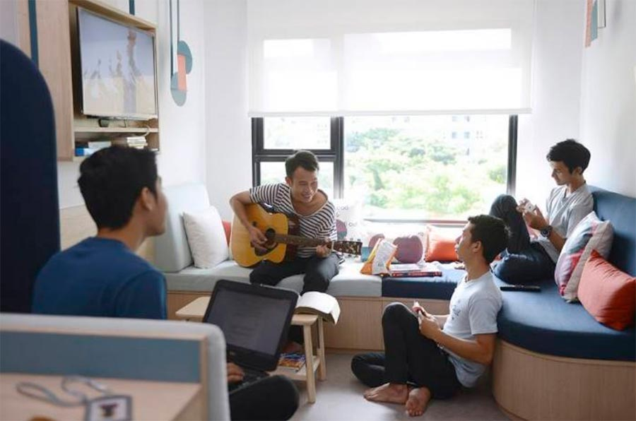 коливинг для студентов в Бангкоке