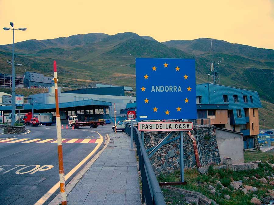 страны где нет подоходного налога countries with no income tax Андорра Andorra