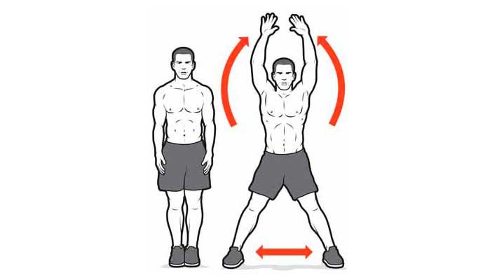 кроссфит тренировка в домашних условиях crossfit workout at home джампинг джек jumping jack