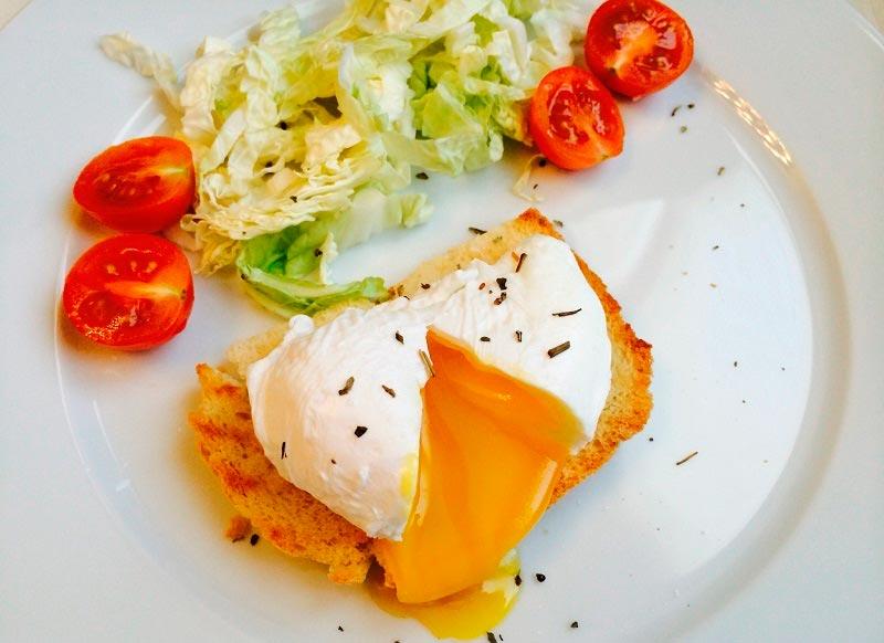 вкусная яичница delicious scrambled eggs Пашот