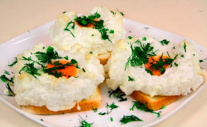 вкусная яичница delicious scrambled eggs Орсини