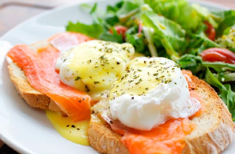 вкусная яичница delicious scrambled eggs Норвежский омлет