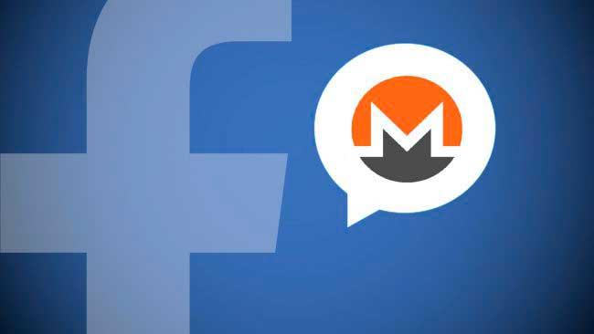 Хакеры использовали Facebook Messenger для скрытого майнинга Monero